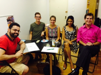 Jubilee Chorus Holds Section Leader Orientation to Discuss Upcoming Season Goal