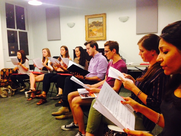 Jubilee Chorus First Rehearsal Session
