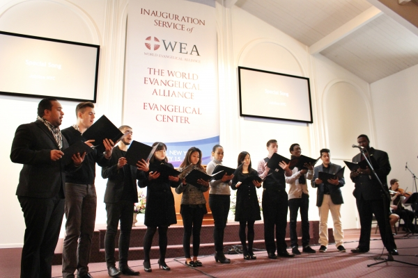 WEA Dedication Service