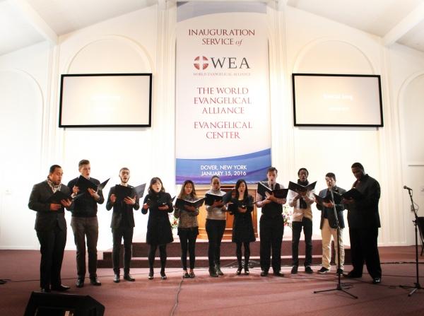 WEA Dedication Service
