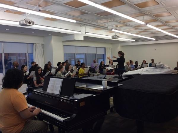 Jubilee Chorus and Nyack College Chorale Retreat