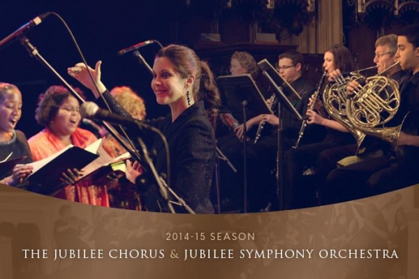 Jubilee Chorus 2014 -15 season