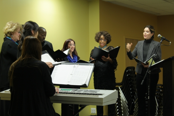 Jubilee Chorus's New season Event at NYC Rescue Mission