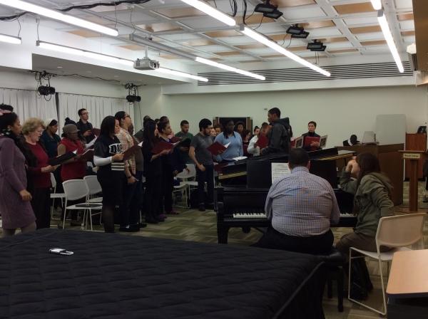 Jubilee Chorus Final Rehearsal, 2014